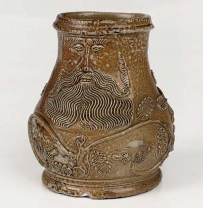 A Cologne stoneware small jug