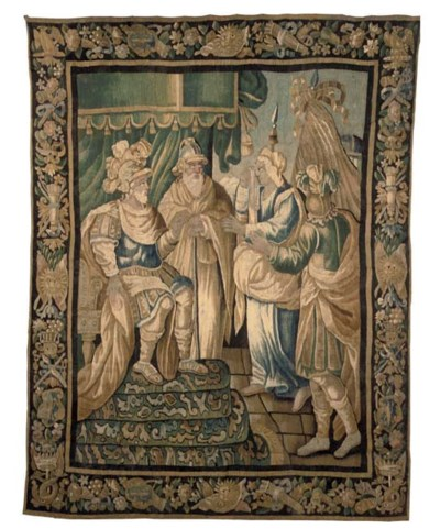 A FRENCH BIBLICAL TAPESTRY