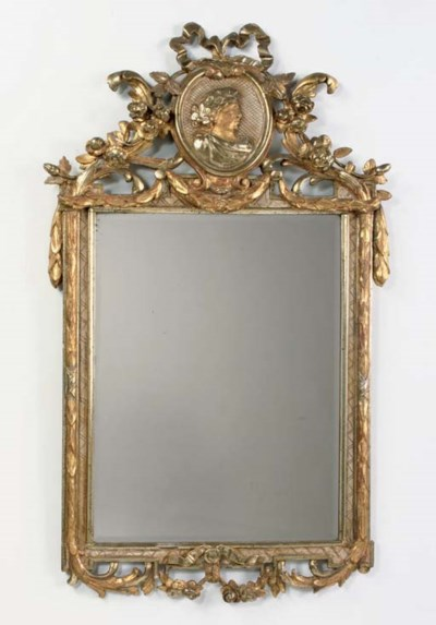 A NORTH GERMAN PARCEL-GILT AND