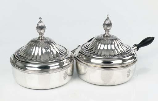 A pair of Austrian silver case