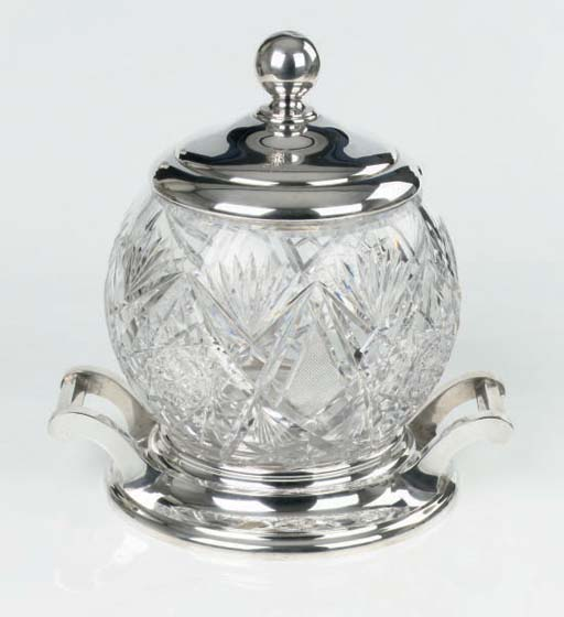 A large german silver and cut-