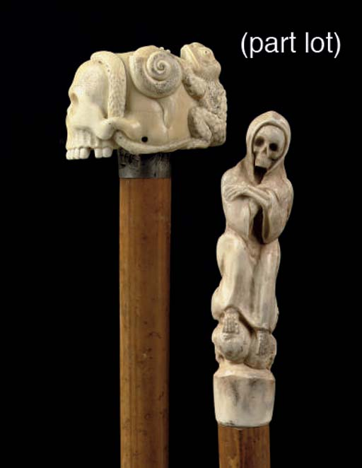 Four canes with surmounted sku