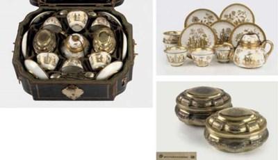 A Meissen Goldchinesen porcela