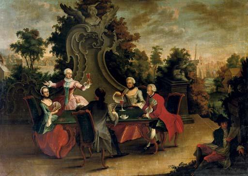 Circle of Johann Esaias Nilson