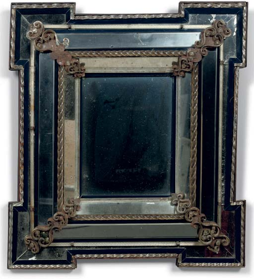 AN NORTH ITALIAN MOULDED GLASS