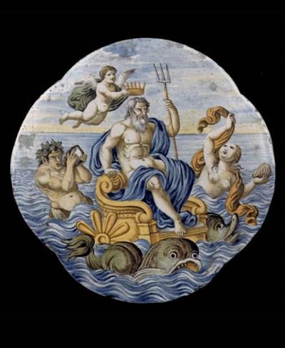 A Castelli quatrefoil mytholog