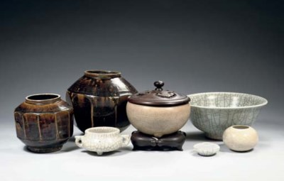 Two provincial pottery jars, a