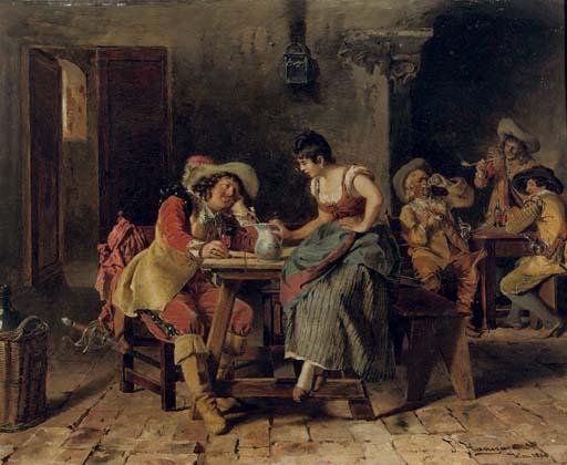 Johann Hamza (German, 1850-192