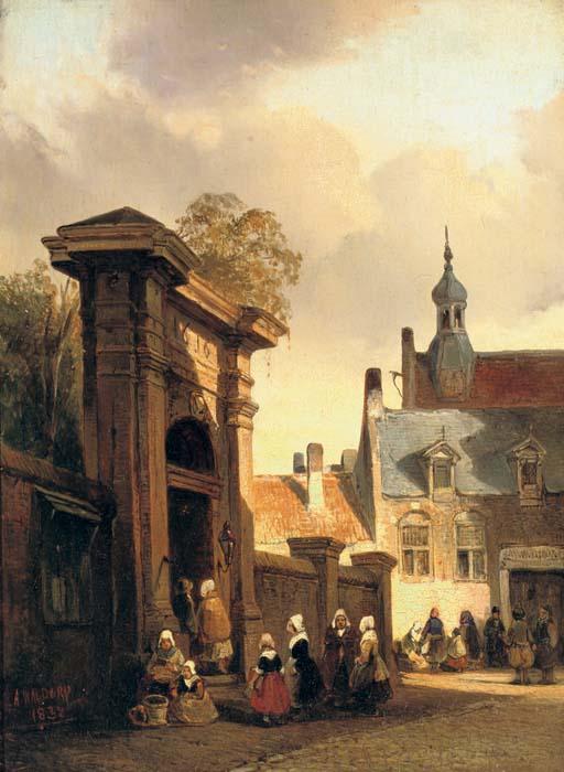 Antonie Waldorp (Dutch, 1803-1866)