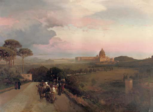 Oswald Achenbach (German, 1827
