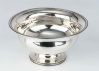 A Dutch silver slob bowl