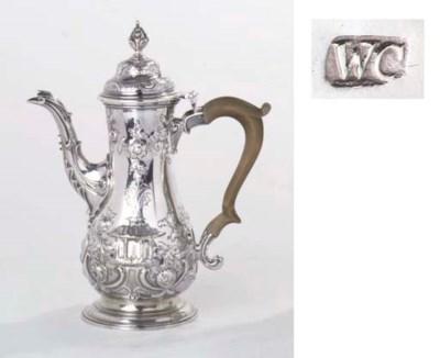 A George III English silver co