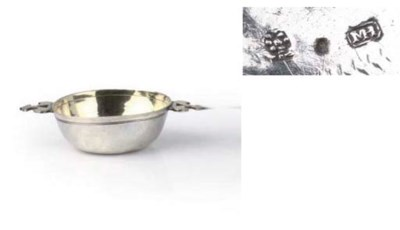 A German parcel-gilt silver mi