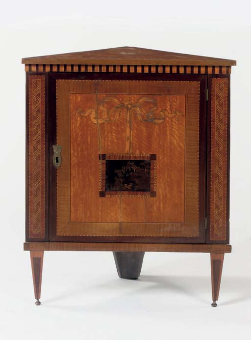 A DUTCH SYCAMORE, SATINWOOD, T