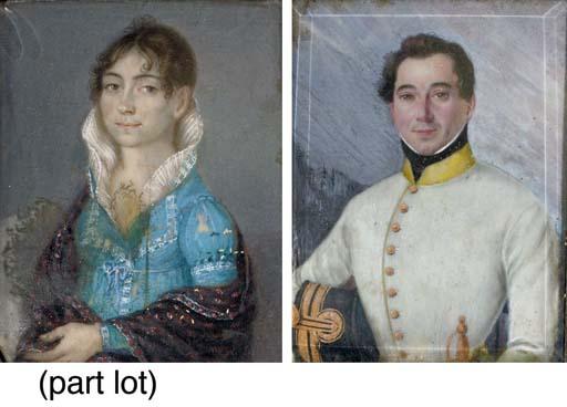 A COLLECTION OF SIX PORTRAIT M