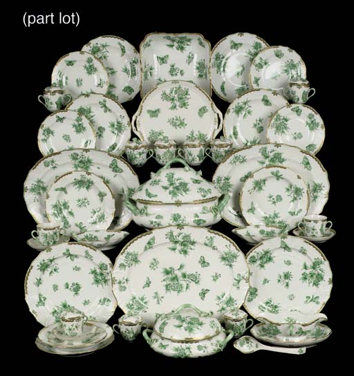 A Herend porcelain 'Queen Vict