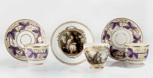 A Meissen (Marcolini) cup and