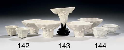 Two pairs of Chinese blanc-de-