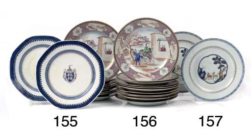 A set of twenty Chinese famill
