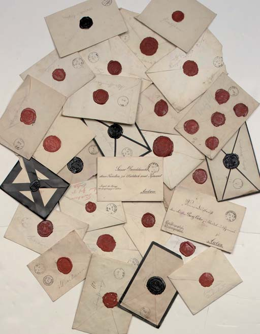A COLLECTION OF 26 ENVELOPES W