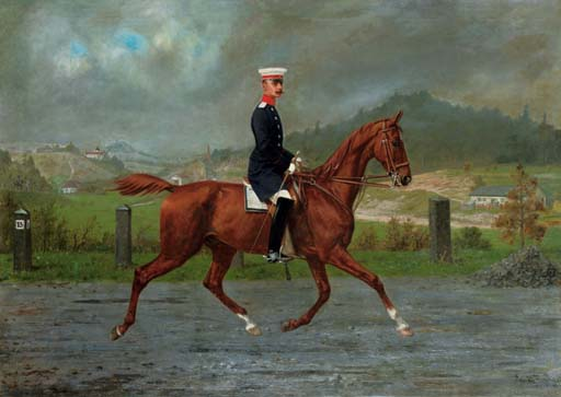 Konrad Freyberg (German, 1842-