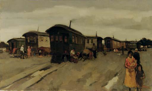 A gipsy camp