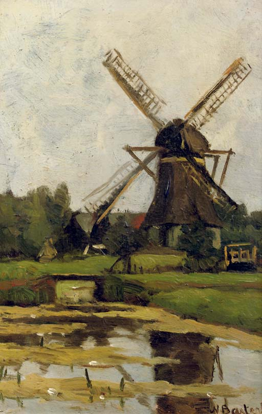 The windmill 'De Wachter', Tienhoven