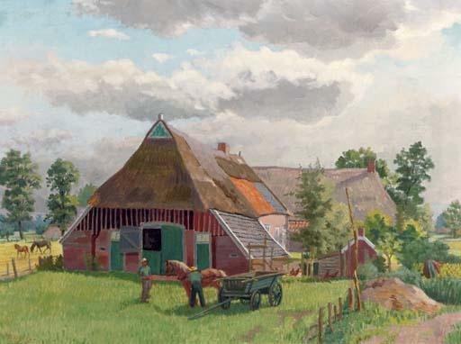 A farmyard