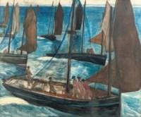 Sailing boats, Douarnenez
