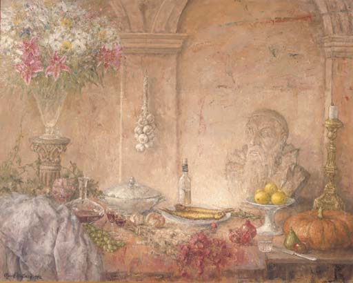 A table still life