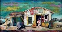 South African street scene