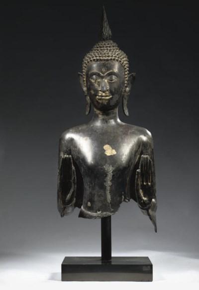 A Thai, Ayutthaya style, black