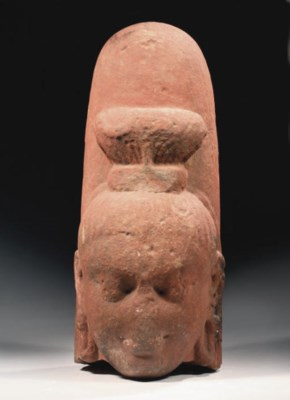 An Indian, Kushana period, red