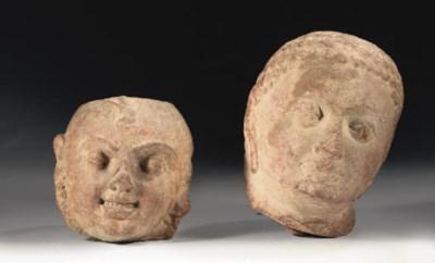 Two Indian, Kushana, sandstone