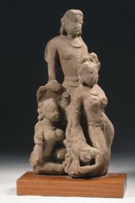 A Central Indian sandstone fra