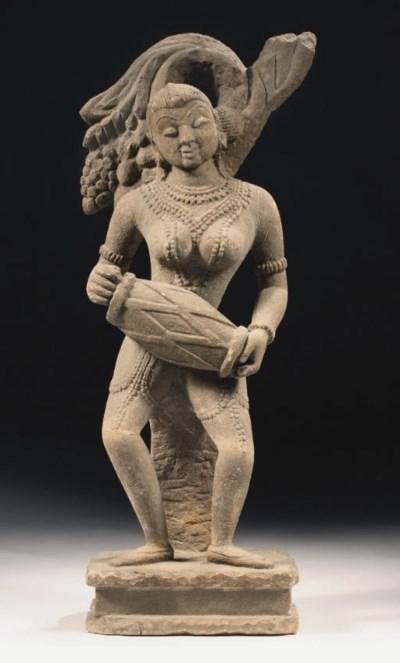 A Central Indian sandstone fig