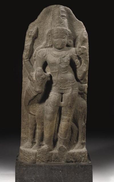 A South Indian granite stele d