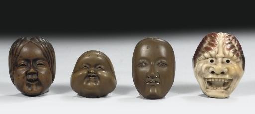Three netsuke