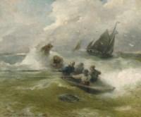 Rowing on rough seas