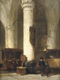 Interior of the Hervormde Kerk, Hattem