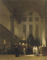 The Portuguese Synagogue, Amsterdam: in the Esnoga