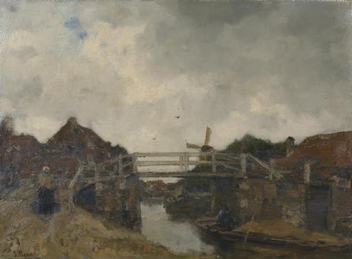 De Brug (bij Rijswijk): the bridge
