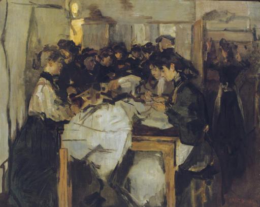 Seamstresses at Atelier Paquin, Paris