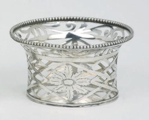 A Dutch silver 'breimandje'
