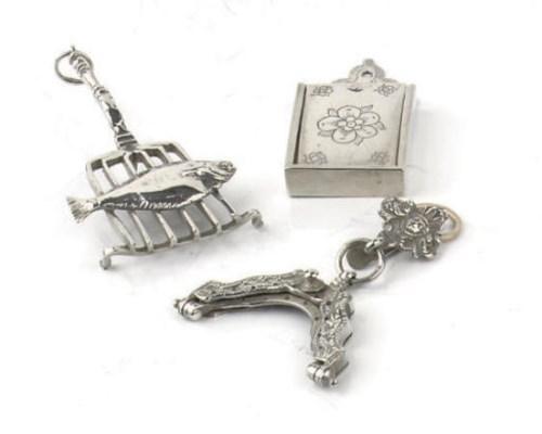 A rare dutch silver satchel bo