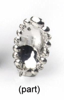 A dutch silver miniature skimm