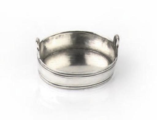A Dutch silver miniature tub