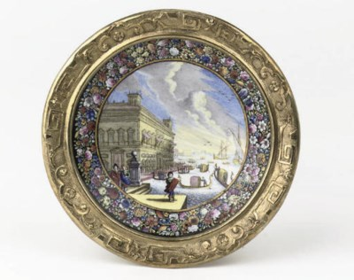 A fine german silver-gilt and