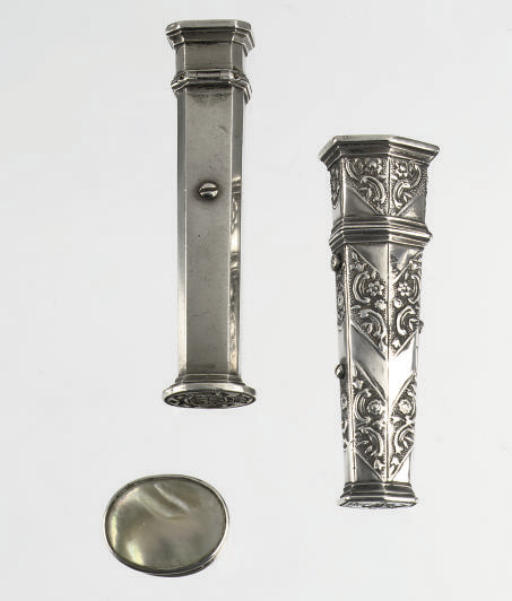 Two various dutch silver cases