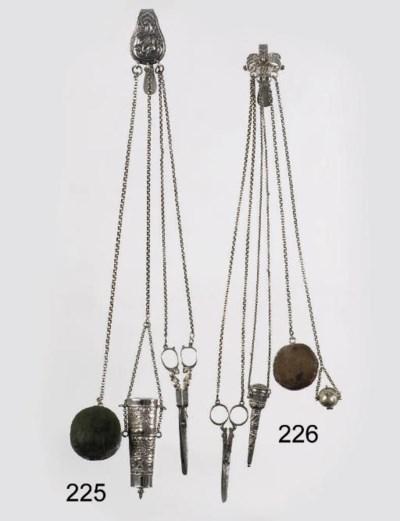 A dutch silver and steel belt-